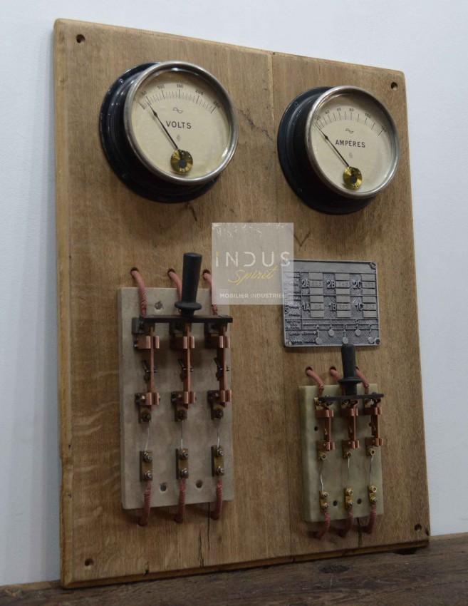 Tableau électrique style atelier