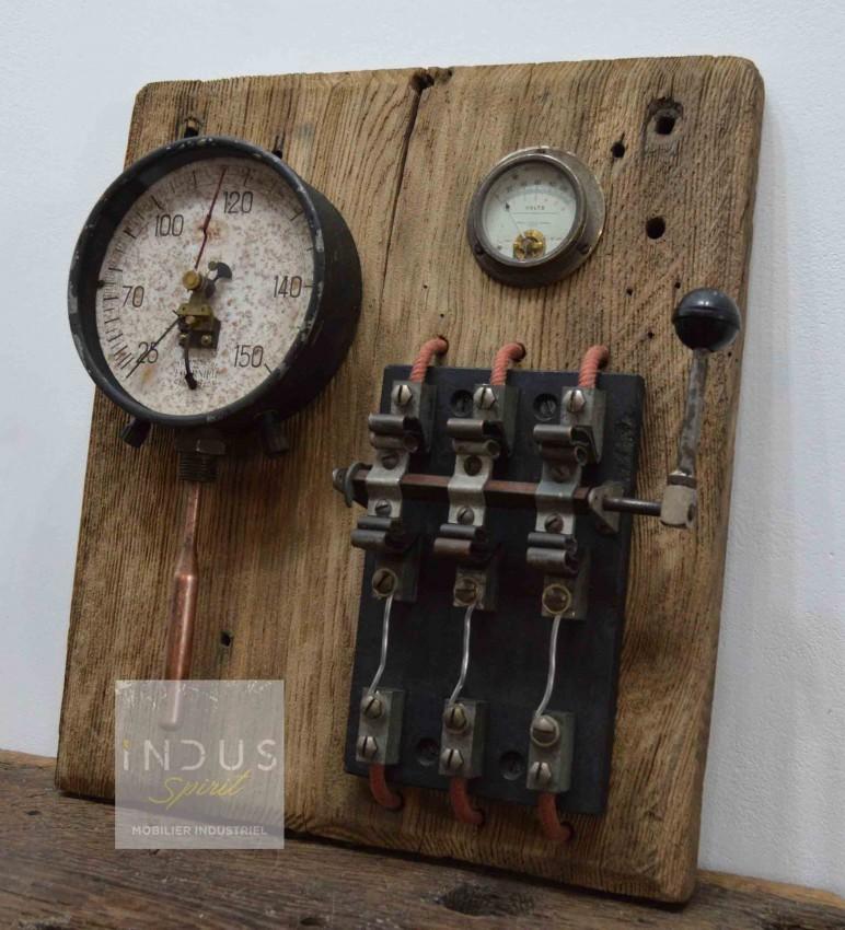Tableau électrique vintage