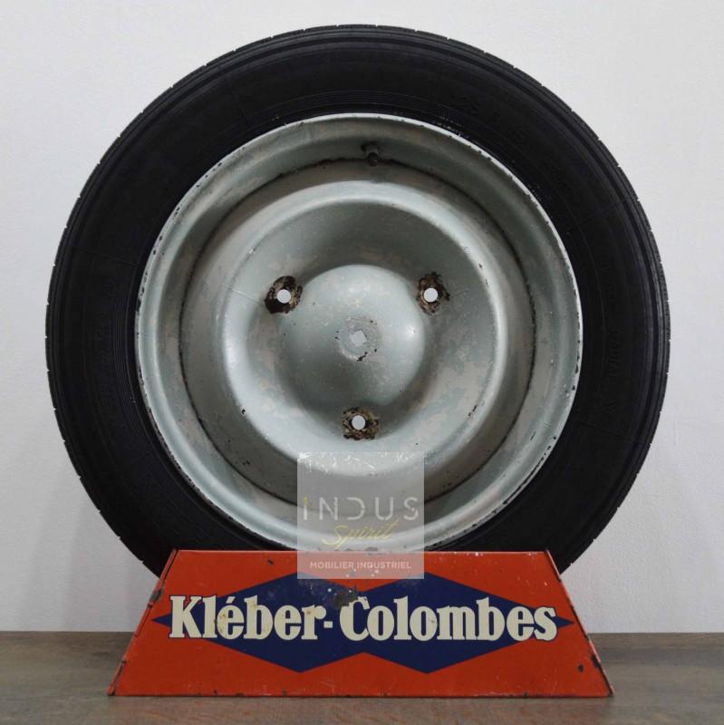 Ancien présentoir Kléber Colombes pour pneu