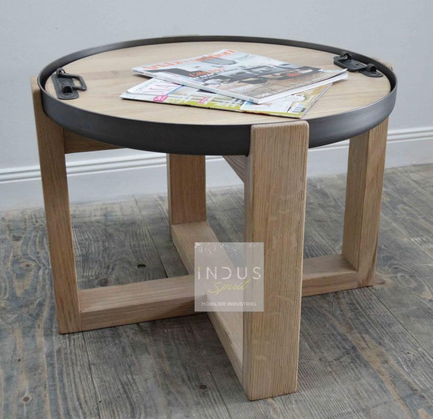 Table basse style industriel / scandinave