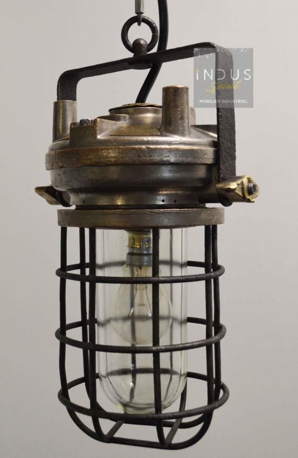 Lampe auxiliaire des mines Douai